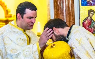 Molnár József papszentelése Nyíregyházán