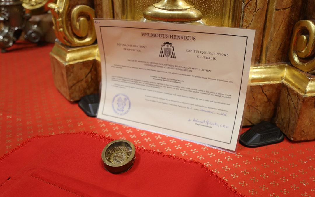 Szent Miklós-ereklyét ajándékoztak a Nyíregyházi Egyházmegyének