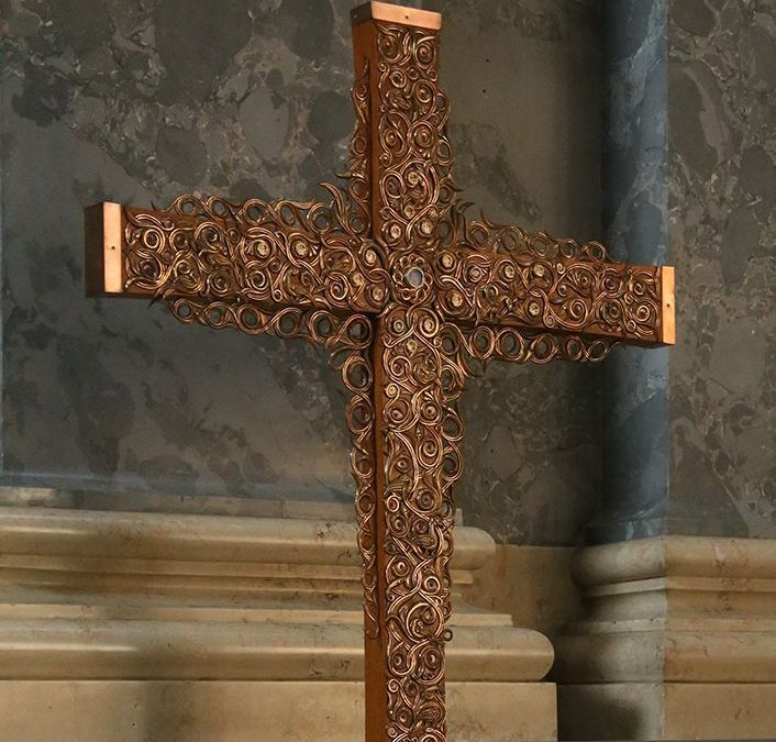 2020 Nemzetközi Eucharisztikus Világkongresszus missziós keresztje Nyíregyházán