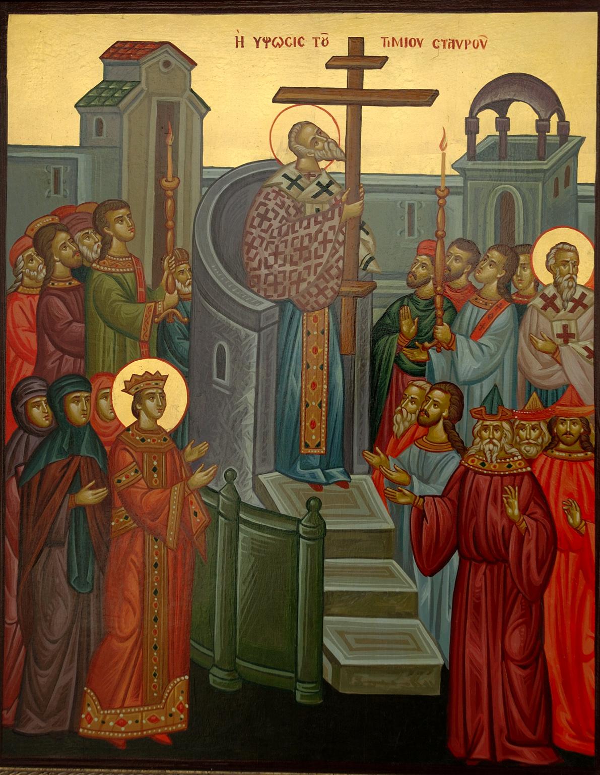 Virrasztás a Székesegyházban – Keresztfelmagasztalás ünnepén
